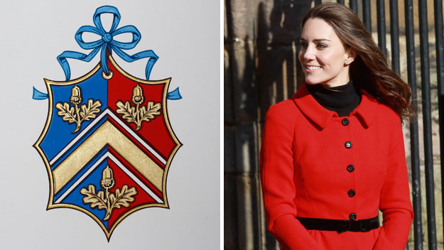 Kate Middleton's coat of arms explained